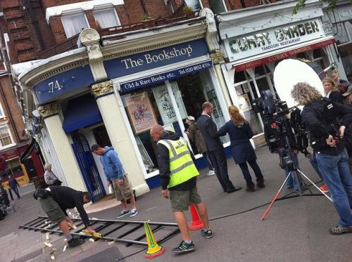 Film Crew in Blackheath