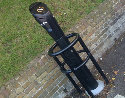 PowerPod in Blackheath for electric car charging