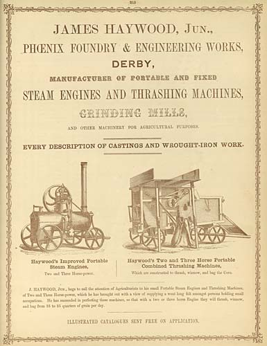 Poster promoting the Phoenix Foundry from 1800-1900