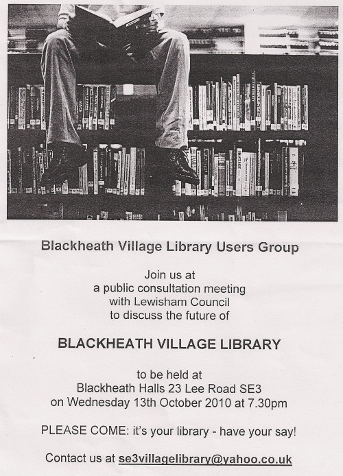 Save Blackheath Library