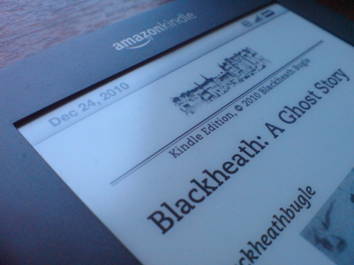 Blackheath Bugle blog on Amazon Kindle 3