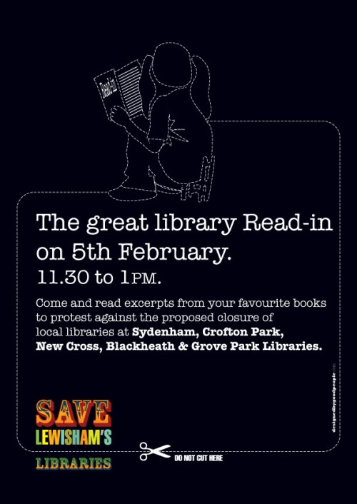 Blackheath Library Read-In Protest