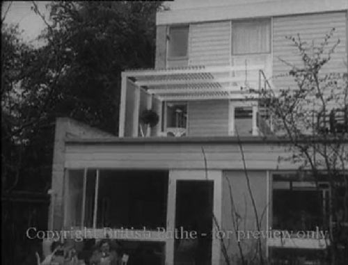 The Smart Home of Tomorrow in Blackheath. Pathe Films 1957