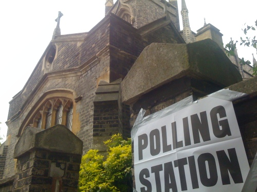 Polling Station, Blackheath, St Michael's Church, London, SE3