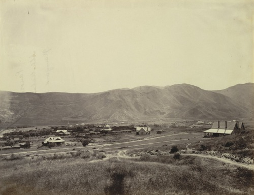 Abbottabad in the 1860s from Wikipedia