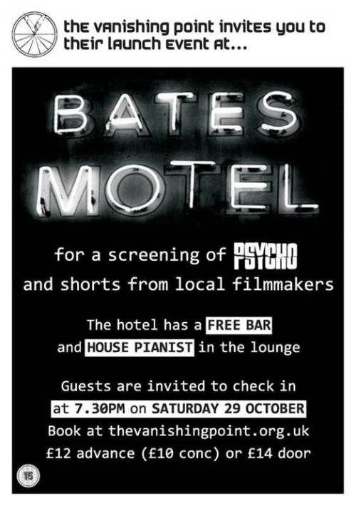 Bates Motel at the Blackheath Conservatoire
