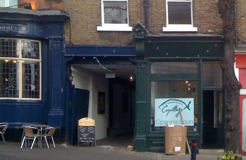 Coquillage Fishmonger Blackheath opening soon