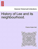 The History of Lee by F H Hart