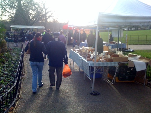 Farmers Market in Manor House Gardens
