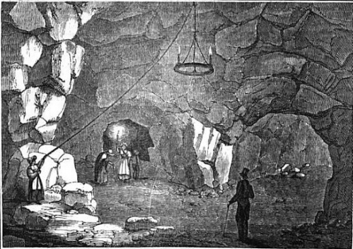Blackheath Cavern Guide To Knowledge 1833 via Subterranean Greenwich and Kent