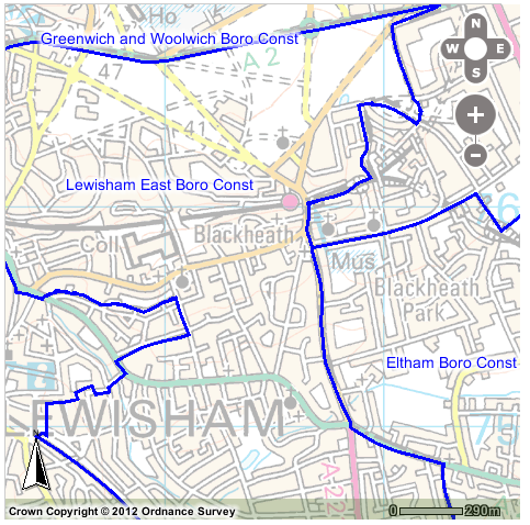 Lewisham East Constituency