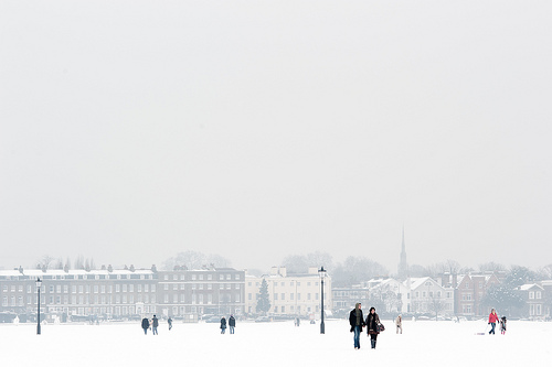 Blackheath in the snow by Michael Sissons