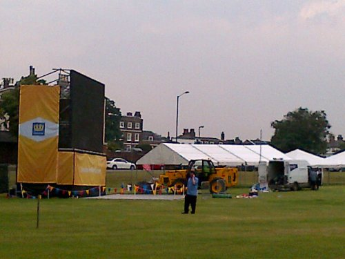 Big screen on the heath, by twitter user @Brightstar24