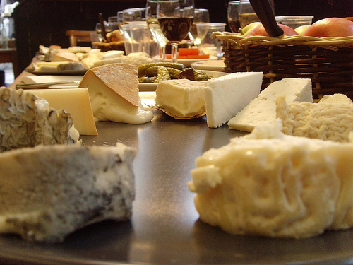 Neal's Yard Dairy Cheese by Mermaid99 on Flickr