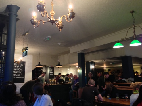 Revamped Hare and Billet pub
