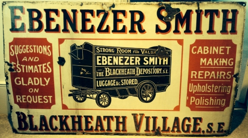 ebenzer smith sign blackheath