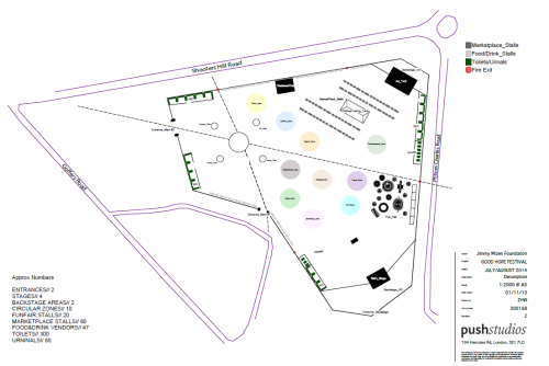 Good hope festival map proposed
