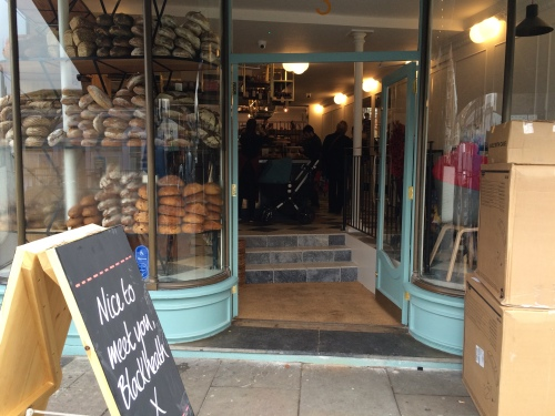 Gail's Bakery opened in Blackheath yesterday
