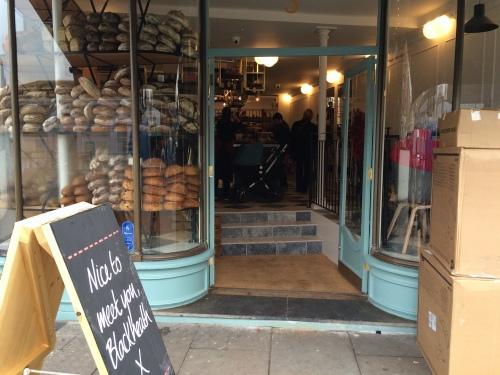 Gail's Bakery opened in Blackheath yesterday
